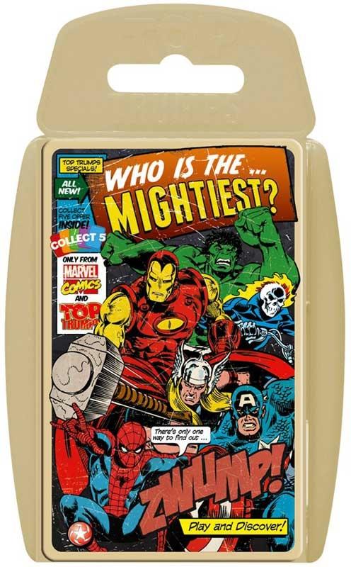 Wholesalers of Top Trumps - Marvel Comics Retro toys