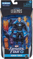 Wholesalers of Marvel F4 Legends Human Torch toys Tmb