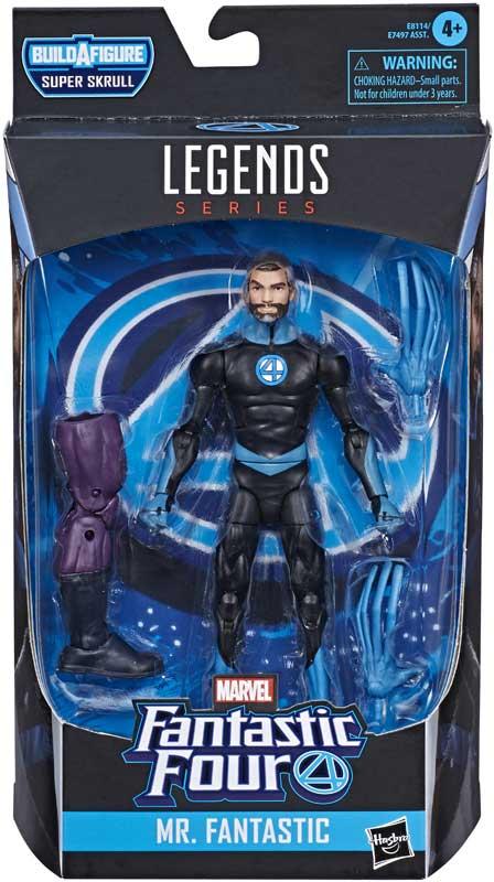 Wholesalers of Marvel F4 Legends Mr Fantastic toys