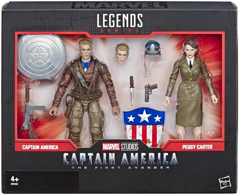 Wholesalers of Marvel Legends Captain America And Peggy Carter toys