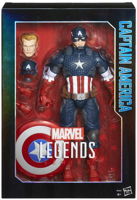 Wholesalers of Marvel Legends Series 12-inch Captain America toys