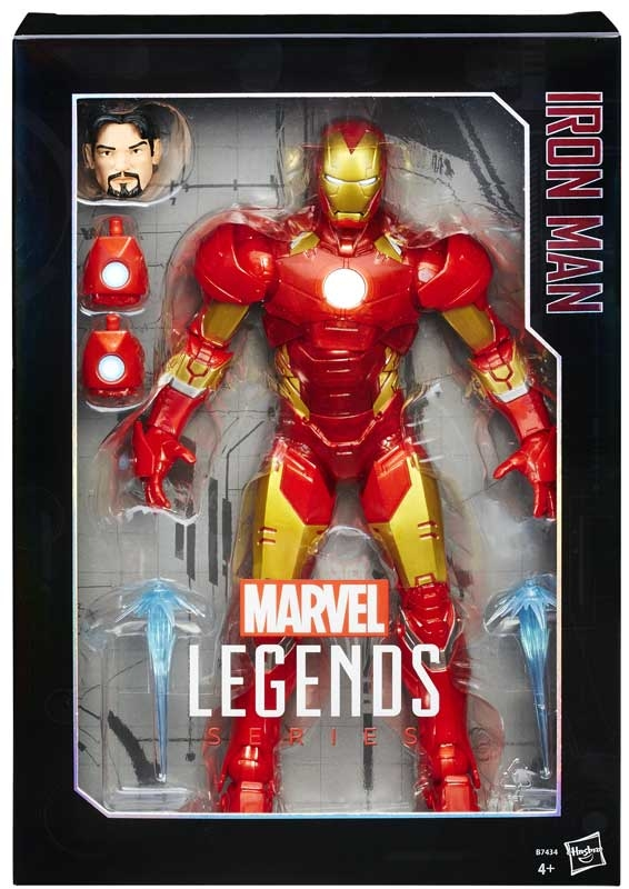 Marvel Legends Avengers Iron Man 12 Inch Action Figure New Fast /& Free Delivery