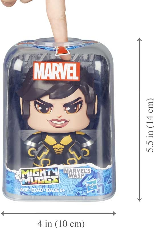Wholesalers of Marvel Mighty Mugs Wasp toys