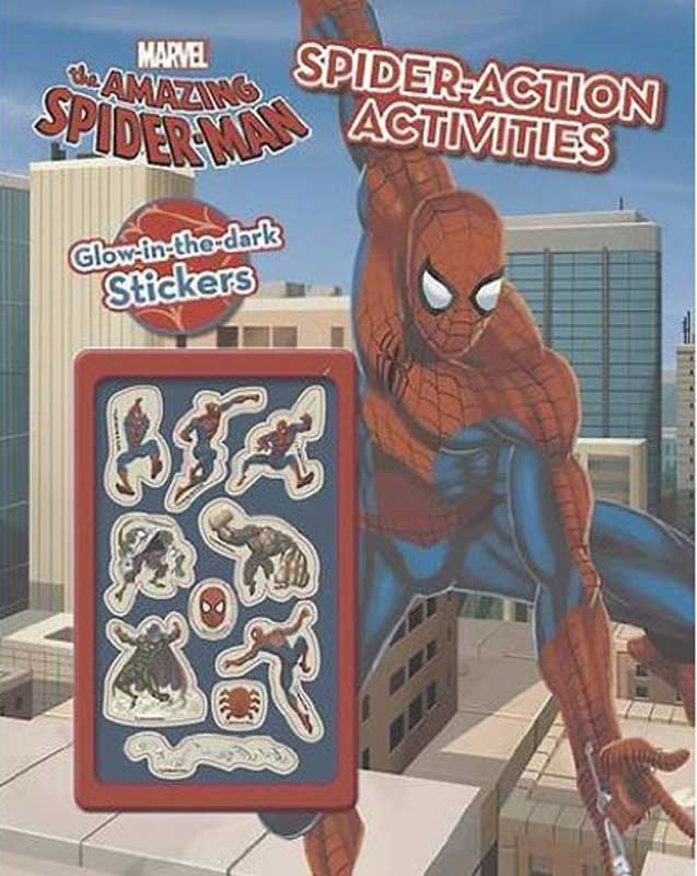 Wholesalers of Marvel Spider-man Web-head Activity Book toys