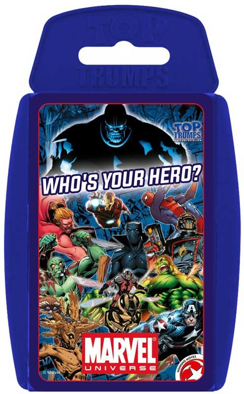 Wholesalers of Top Trumps - Marvel Universe toys