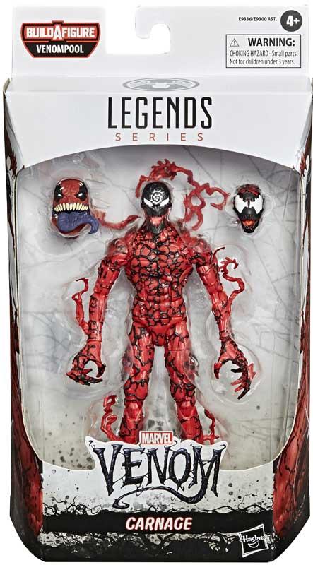 Wholesalers of Marvel Venom Legends Carnage toys