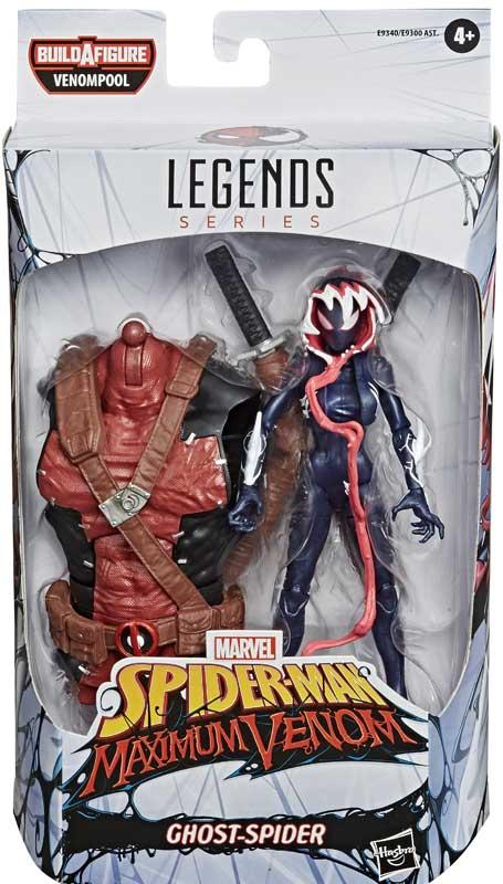 Wholesalers of Marvel Venom Legends Ghost Spider toys