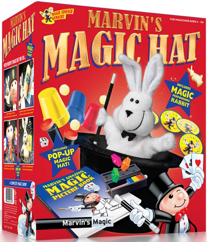 Wholesalers of Marvins Magic Rabbit And Hat toys