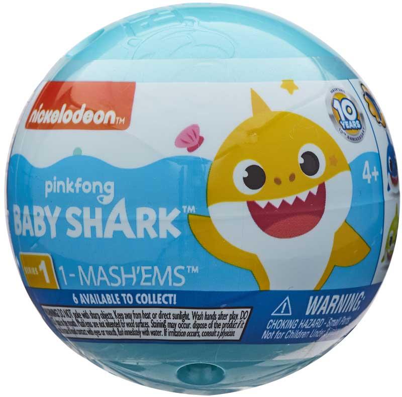 Wholesalers of Mashems Baby Shark - Sphere Capsule toys