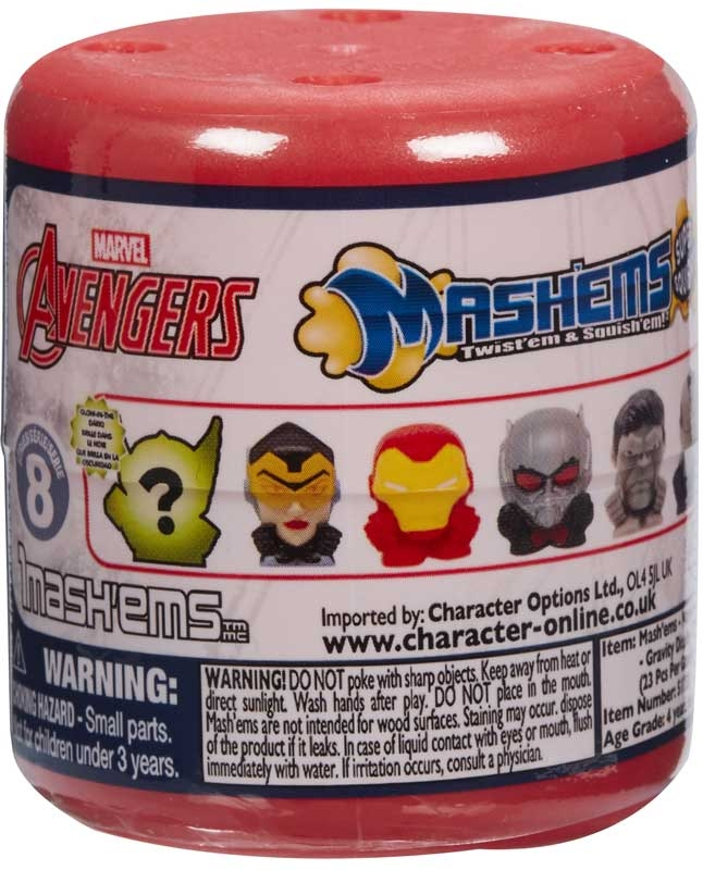 Wholesalers of Mashems Marvel Avengers S8 toys