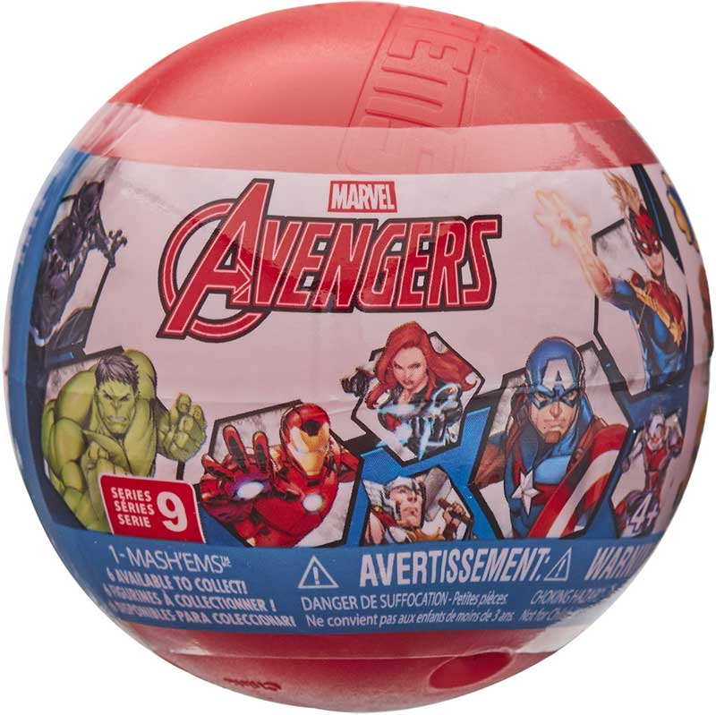 Wholesalers of Mashems Marvel Avengers S9 - Sphere Capsule toys