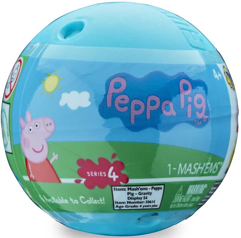 Wholesalers of Mashems Peppa Pig - Sphere Capsule toys