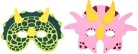 Wholesalers of Mask Eva Dinosaur 6 Asst toys image