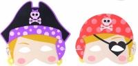 Wholesalers of Mask Eva Pirate Girl 6 Asst toys image