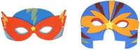 Wholesalers of Mask Eva Super Hero 4 Asst toys image