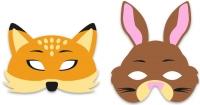Wholesalers of Mask Eva Woodland 6 Asst toys image