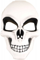 Wholesalers of Mask Skeleton White Adult toys image