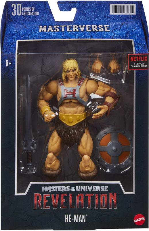 Wholesalers of Masters Of The Universe Masterverse Revelation He-man toys