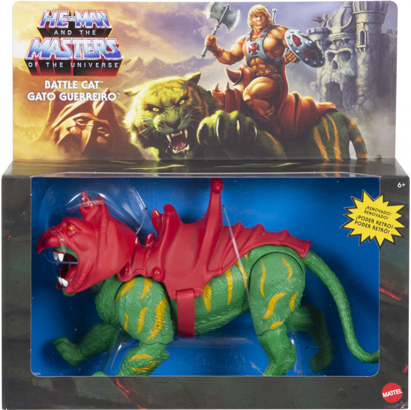 Wholesalers of Masters Of The Universe Origins Battle Cat toys