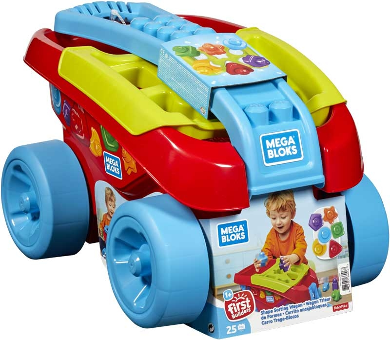 Wholesalers of Mega Bloks - Shape Sorting Wagon toys