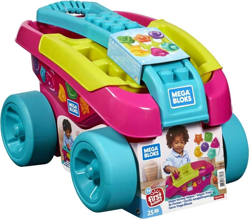 Wholesalers of Mega Bloks - Shape Sorting Wagon toys