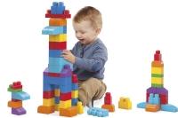 Wholesalers of Mega Bloks Building Bag 60pc Blue toys image 3