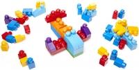 Wholesalers of Mega Bloks Building Bag 60pc Blue toys image 4