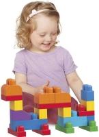 Wholesalers of Mega Bloks  Building Bag 60pc Pink toys image 3