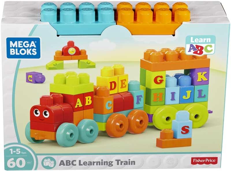 Wholesalers of Mega Bloks Abc Learning Train toys