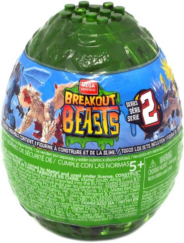 Wholesalers of Mega Bloks Breakout Beasts Asst toys