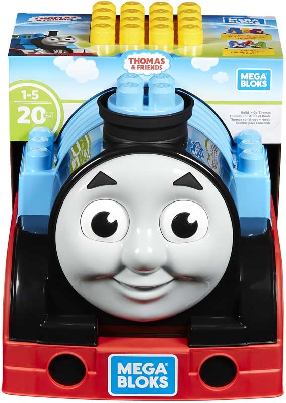Wholesalers of Mega Bloks Build & Go Thomas toys