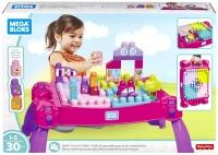 Wholesalers of Mega Bloks Build N Learn Table Pink toys Tmb