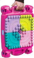 Wholesalers of Mega Bloks Build N Learn Table Pink toys image 2
