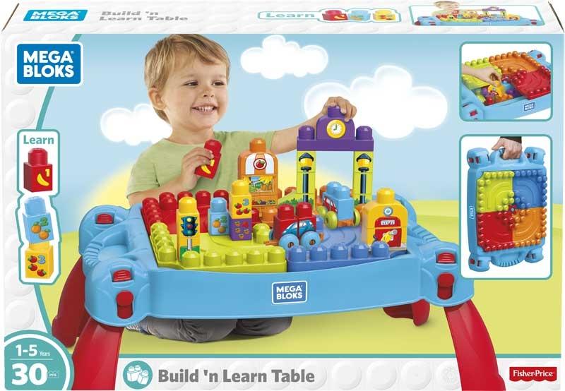 Wholesalers of Mega Bloks Build N Learn Table toys