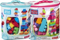 Wholesalers of Mega Bloks Building Bag 60pc Asst toys image