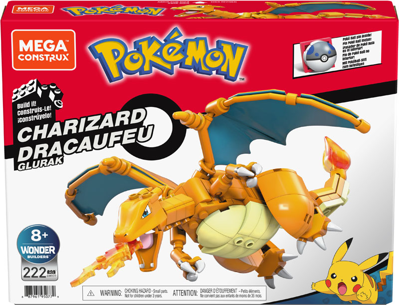Wholesalers of Mega Bloks Charizard toys