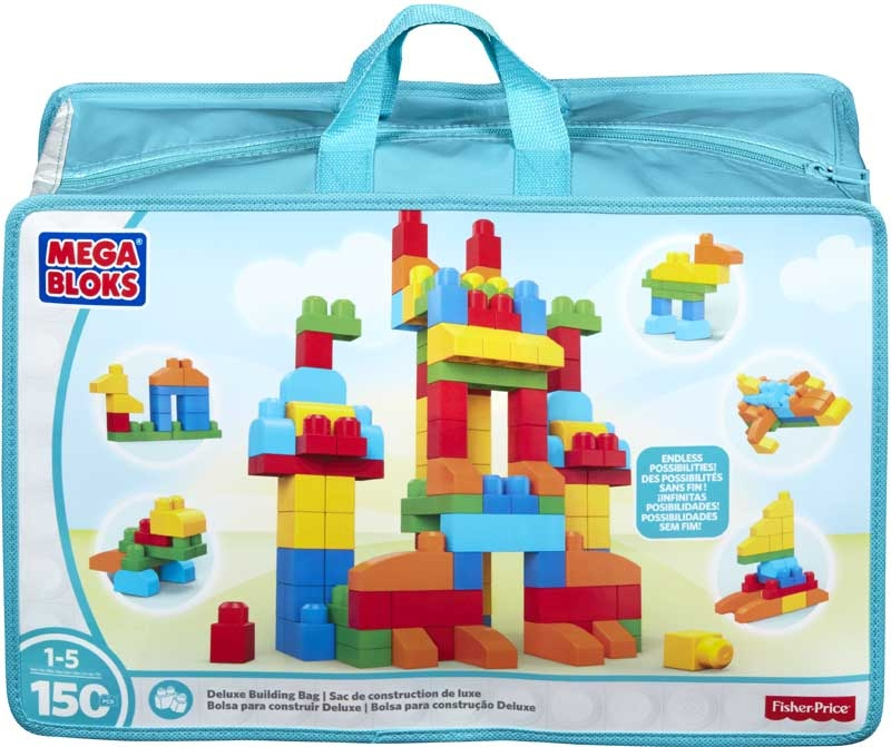 Wholesalers of Mega Bloks Deluxe Building Bag toys