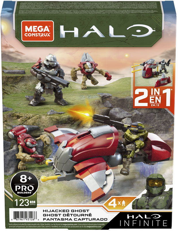 Wholesalers of Mega Bloks Halo Hijacked Ghost Small Vehicle toys
