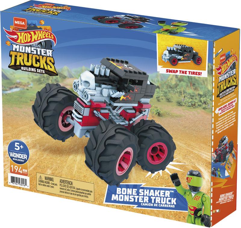 Wholesalers of Mega Bloks Hw Construx Bone Shaker toys