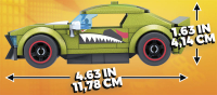 Wholesalers of Mega Bloks Hw Construx Rockin Racers Astd toys image 4
