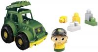 Wholesalers of Mega Bloks John Deere Lil Tractor toys image