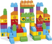 Wholesalers of Mega Bloks Lets Get Learning Bag 150pcs toys image 2