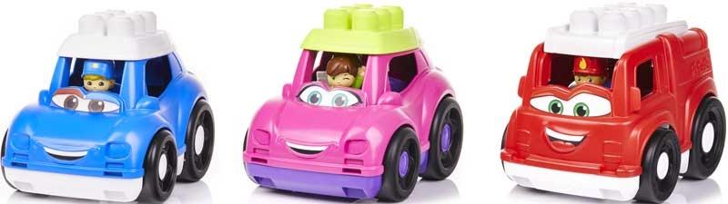 Wholesalers of Mega Bloks Lil  Vehicles Asst Classic toys