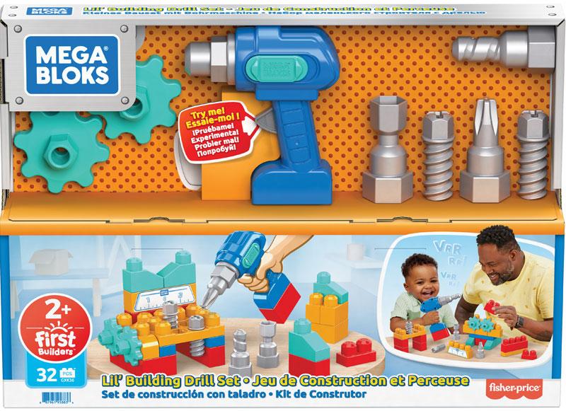Wholesalers of Mega Bloks Lil Building Drill Set toys