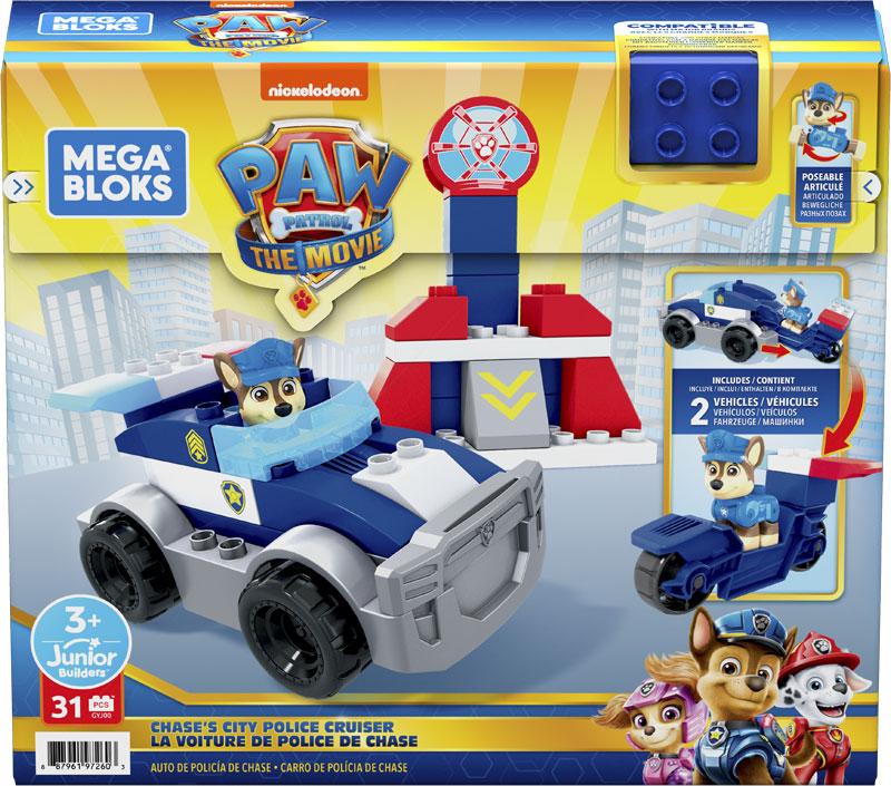 Wholesalers of Mega Bloks Paw Patrol - Chases City Police Cruiser toys