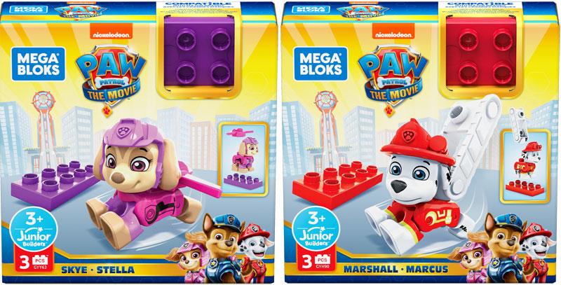 Wholesalers of Mega Bloks Paw Patrol - Figure Asst toys