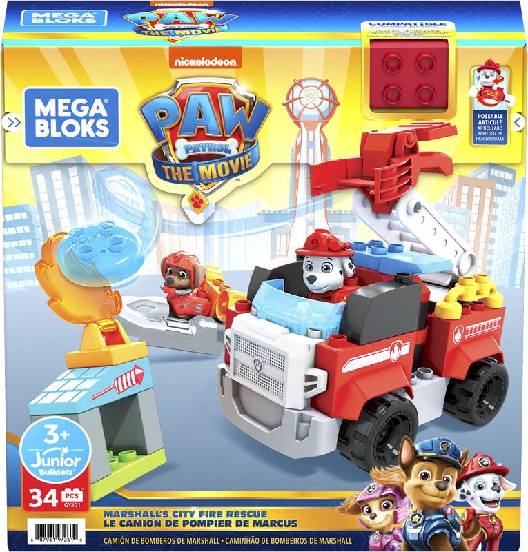 Wholesalers of Mega Bloks Paw Patrol - Marshalls City Fire Rescue toys