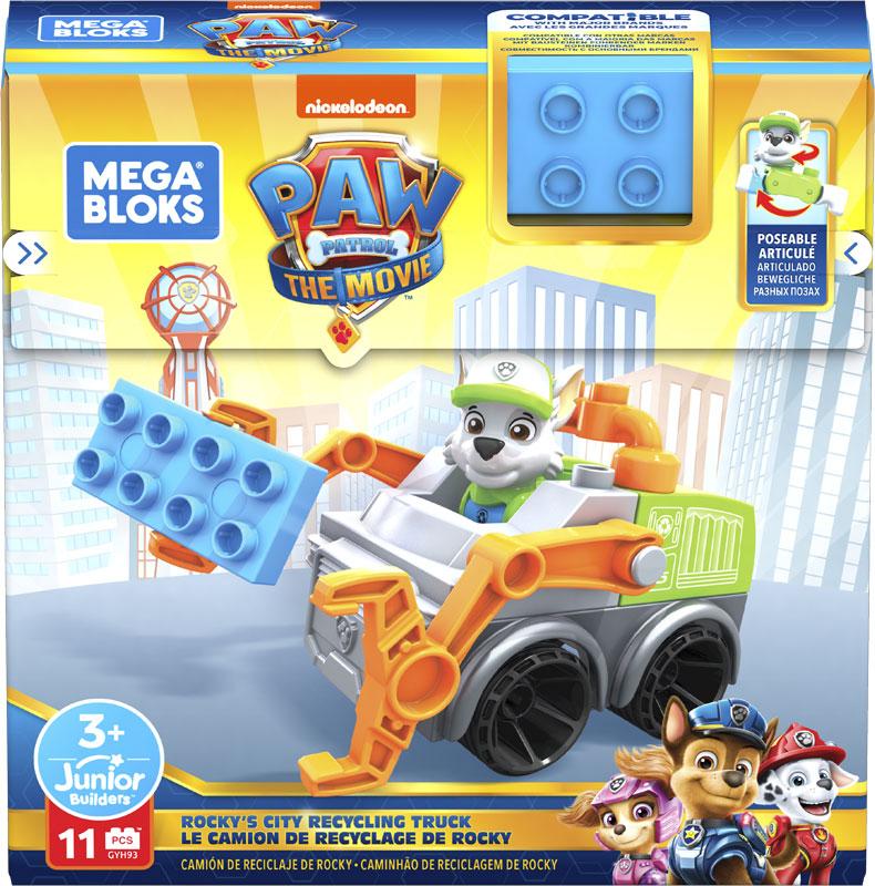 Wholesalers of Mega Bloks Paw Patrol - Rocky City Recycling Truck toys