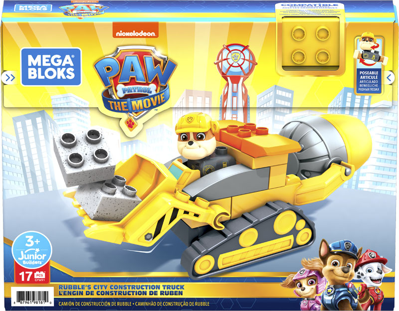 Wholesalers of Mega Bloks Paw Patrol - Rubbles City Construction toys