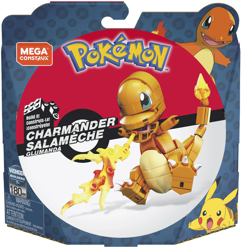 Wholesalers of Mega Bloks Pok Charmander toys